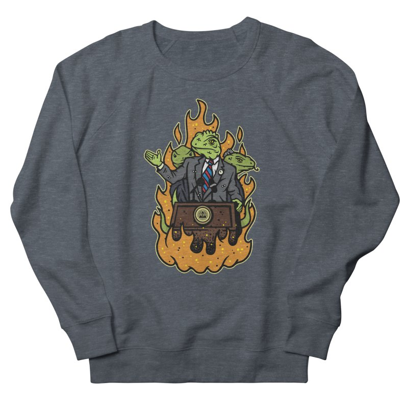 Lizard People Men's Sweatshirt by MattAlbert84's Apparel Shop