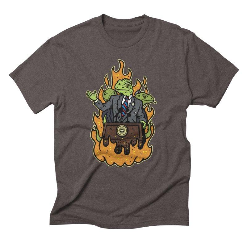 Lizard People Men's Triblend T-shirt by MattAlbert84's Apparel Shop
