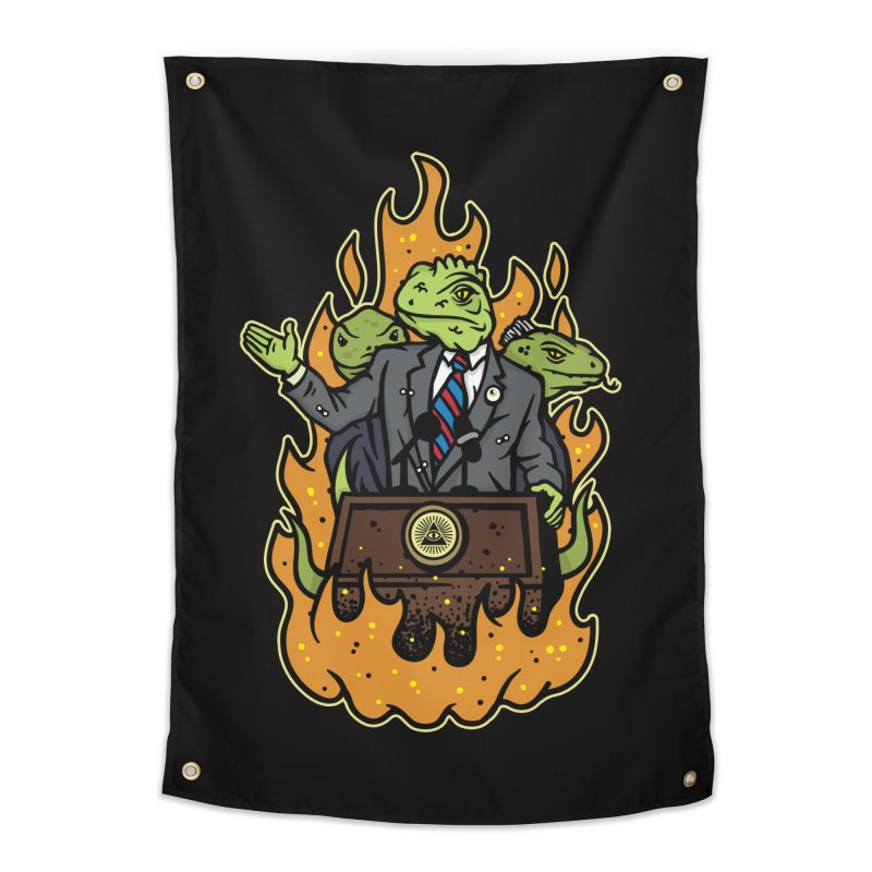 Lizard People Home Tapestry by MattAlbert84's Apparel Shop