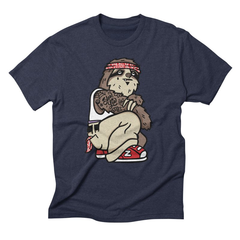 Slow 'n Low Men's Triblend T-Shirt by MattAlbert84's Apparel Shop