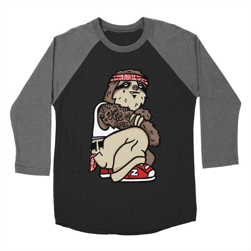 Slow 'n Low Men's Baseball Triblend T-Shirt by MattAlbert84's Apparel Shop