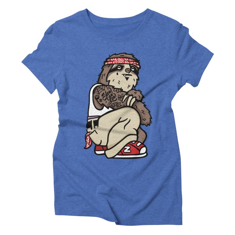 Slow 'n Low Women's Triblend T-Shirt by MattAlbert84's Apparel Shop