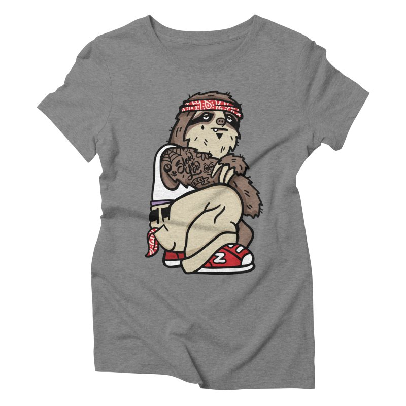 Slow 'n Low Women's Triblend T-Shirt by MattAlbert84's Apparel Shop