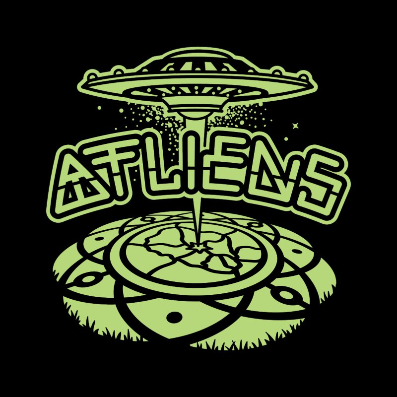 ATLiens (Mono) Men's Sweatshirt by MattAlbert84's Apparel Shop