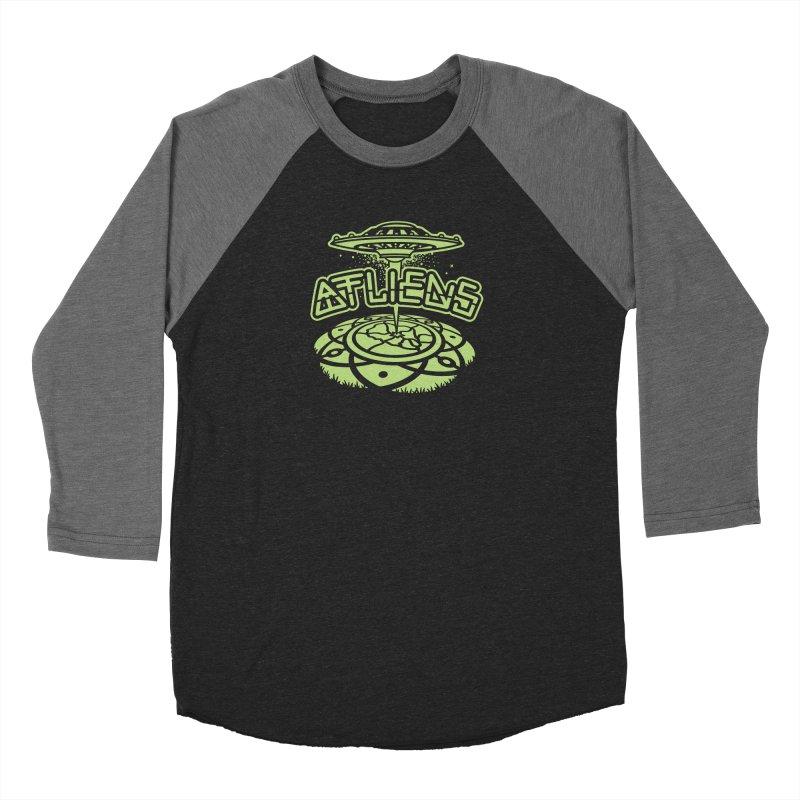 ATLiens (Mono) Men's Baseball Triblend Longsleeve T-Shirt by MattAlbert84's Apparel Shop
