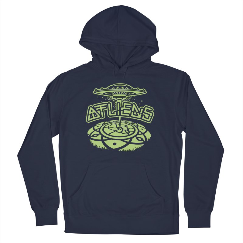 ATLiens (Mono) Men's Pullover Hoody by MattAlbert84's Apparel Shop