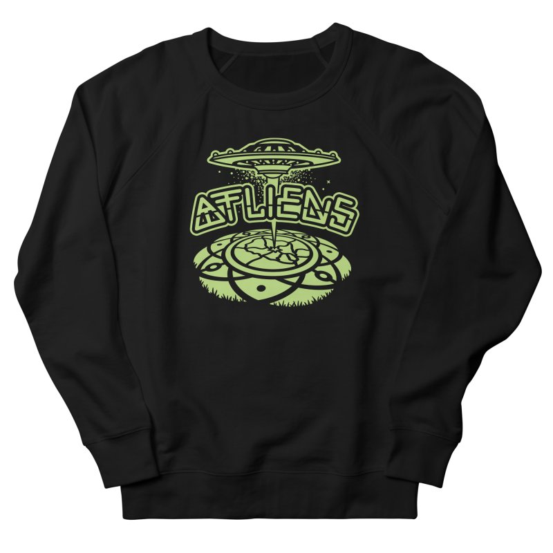ATLiens (Mono) Women's Sweatshirt by MattAlbert84's Apparel Shop