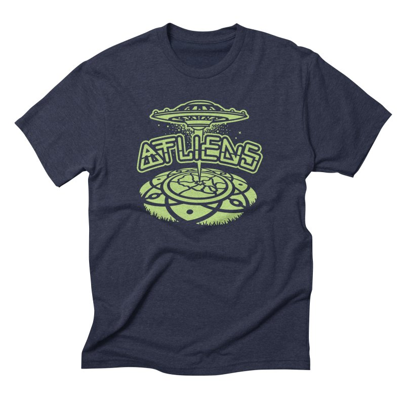 ATLiens (Mono) Men's Triblend T-Shirt by MattAlbert84's Apparel Shop
