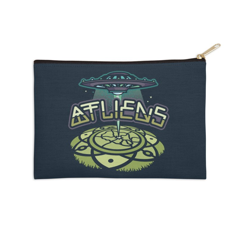 ATLiens (Color) Accessories Zip Pouch by MattAlbert84's Apparel Shop