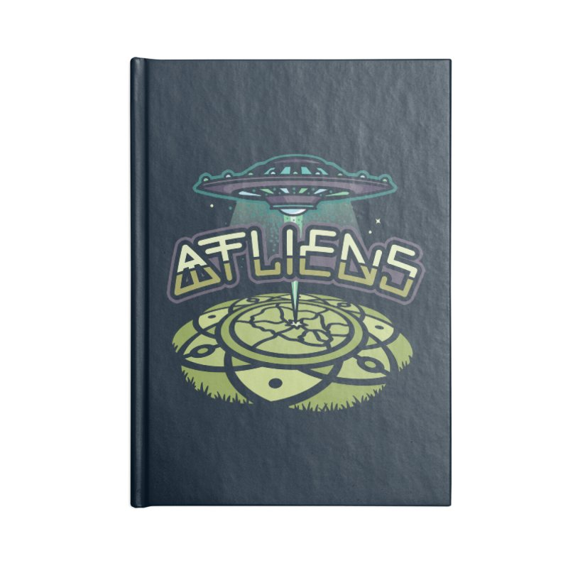 ATLiens (Color) Accessories Lined Journal Notebook by MattAlbert84's Apparel Shop