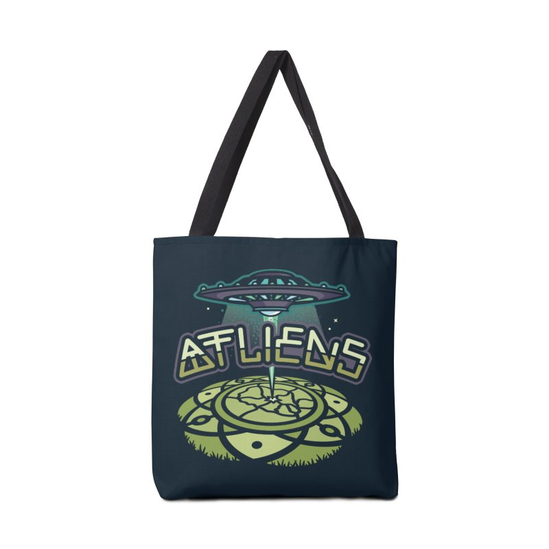 ATLiens (Color) Accessories Tote Bag Bag by MattAlbert84's Apparel Shop