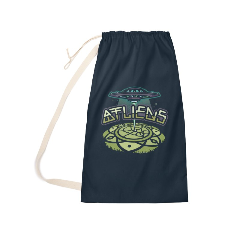 ATLiens (Color) Accessories Laundry Bag Bag by MattAlbert84's Apparel Shop