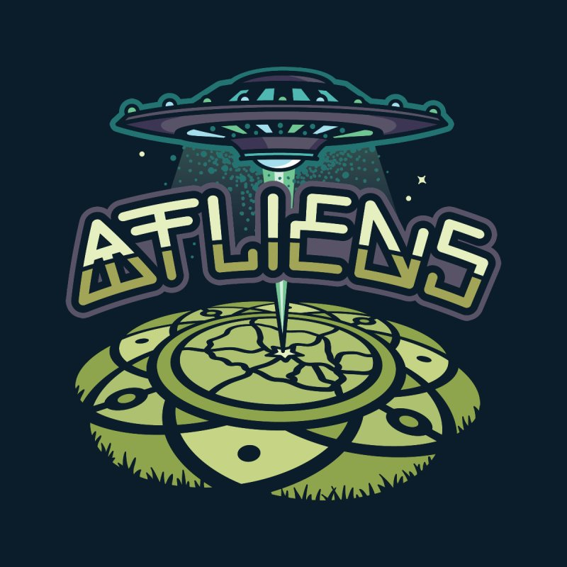 ATLiens (Color) Women's Longsleeve T-Shirt by MattAlbert84's Apparel Shop