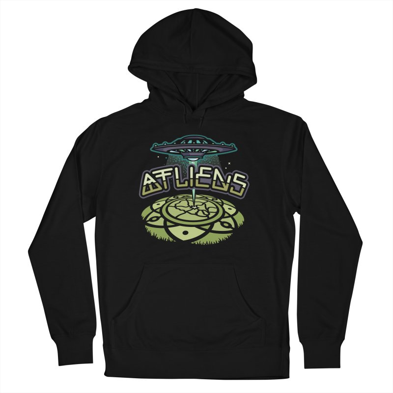 ATLiens (Color) Women's French Terry Pullover Hoody by MattAlbert84's Apparel Shop