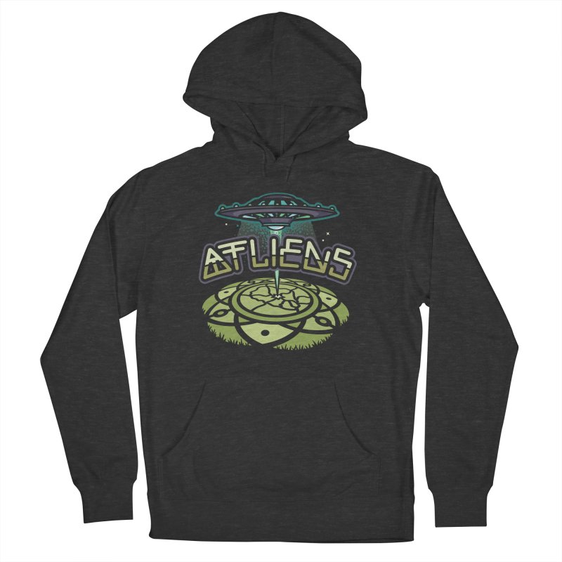 ATLiens (Color) in Men's Pullover Hoody Smoke by MattAlbert84's Apparel Shop