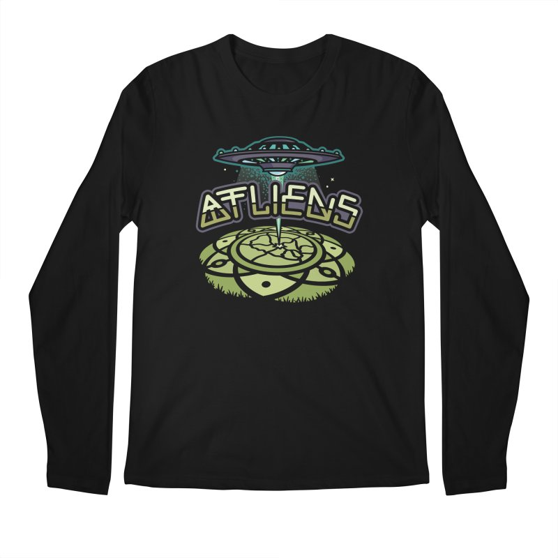 ATLiens (Color) Men's Longsleeve T-Shirt by MattAlbert84's Apparel Shop