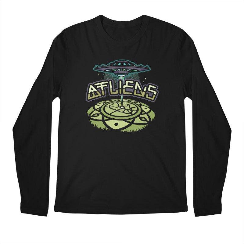 ATLiens (Color) Men's Regular Longsleeve T-Shirt by MattAlbert84's Apparel Shop