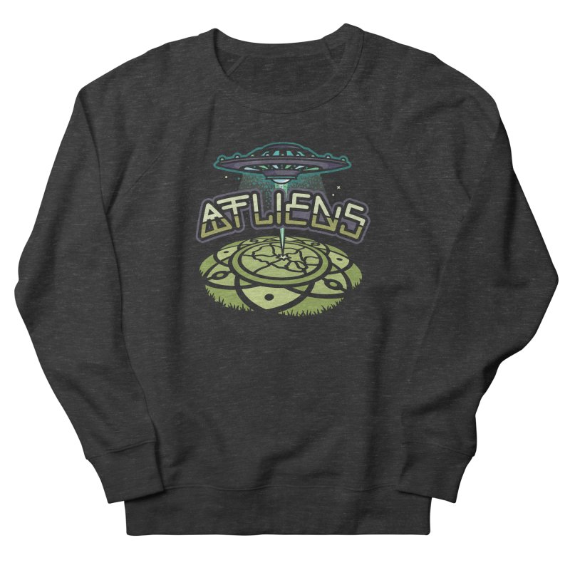 ATLiens (Color) Women's French Terry Sweatshirt by MattAlbert84's Apparel Shop