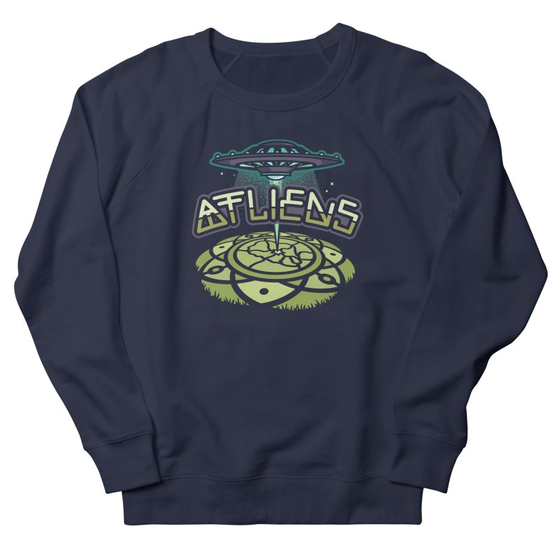 ATLiens (Color) Men's French Terry Sweatshirt by MattAlbert84's Apparel Shop