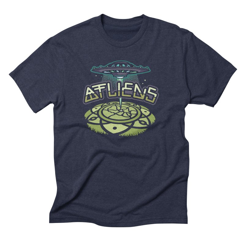 ATLiens (Color) Men's Triblend T-Shirt by MattAlbert84's Apparel Shop