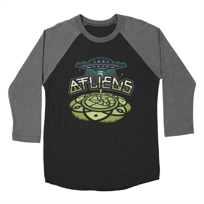 ATLiens (Color) Men's Baseball Triblend T-Shirt by MattAlbert84's Apparel Shop