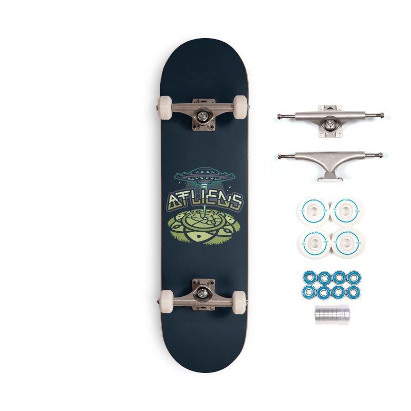 ATLiens (Color) Accessories Complete - Basic Skateboard by MattAlbert84's Apparel Shop