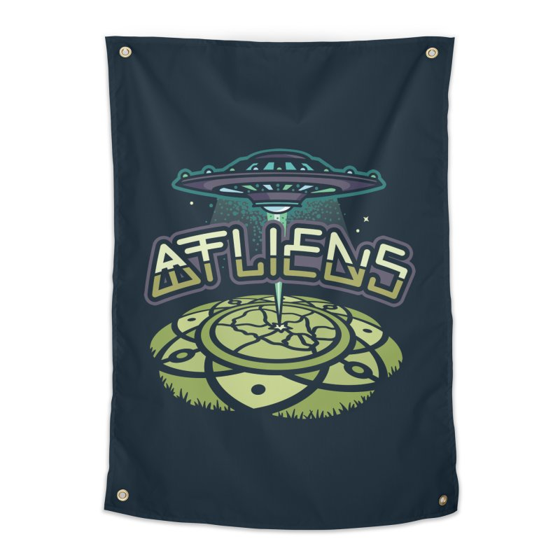 ATLiens (Color) Home Tapestry by MattAlbert84's Apparel Shop