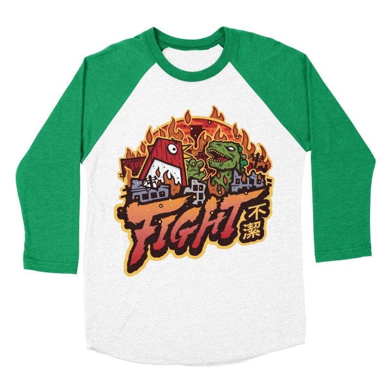 Territorial Dispute Men's Baseball Triblend Longsleeve T-Shirt by MattAlbert84's Apparel Shop