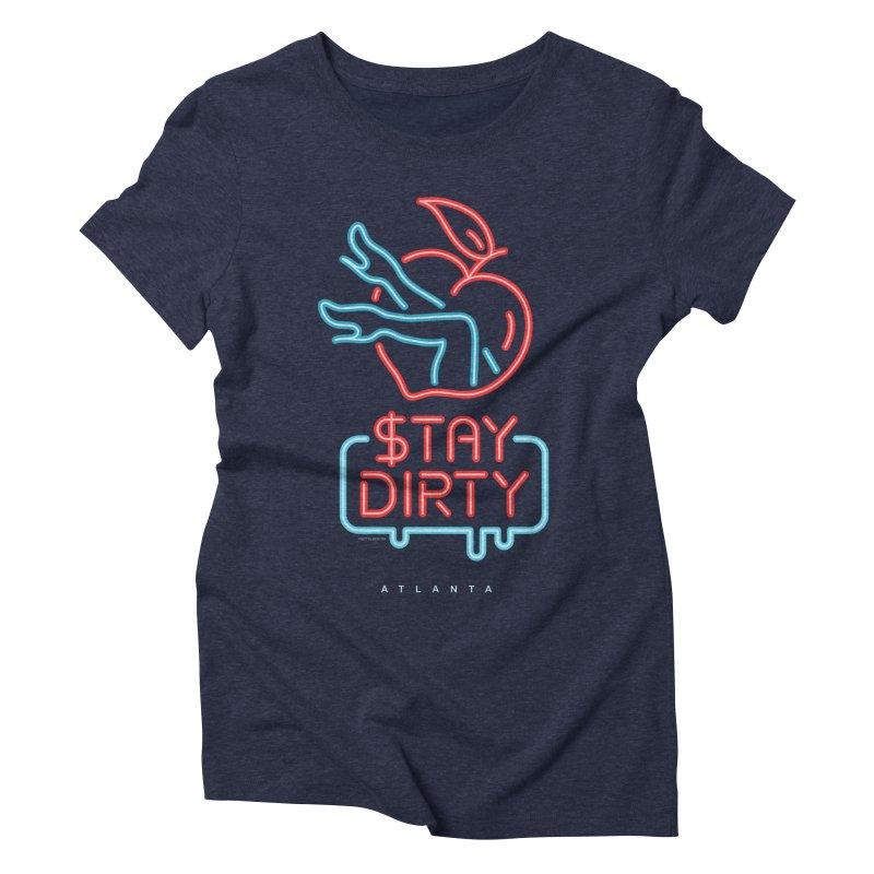 Stay Dirty Neon Women's T-Shirt by MattAlbert84's Apparel Shop