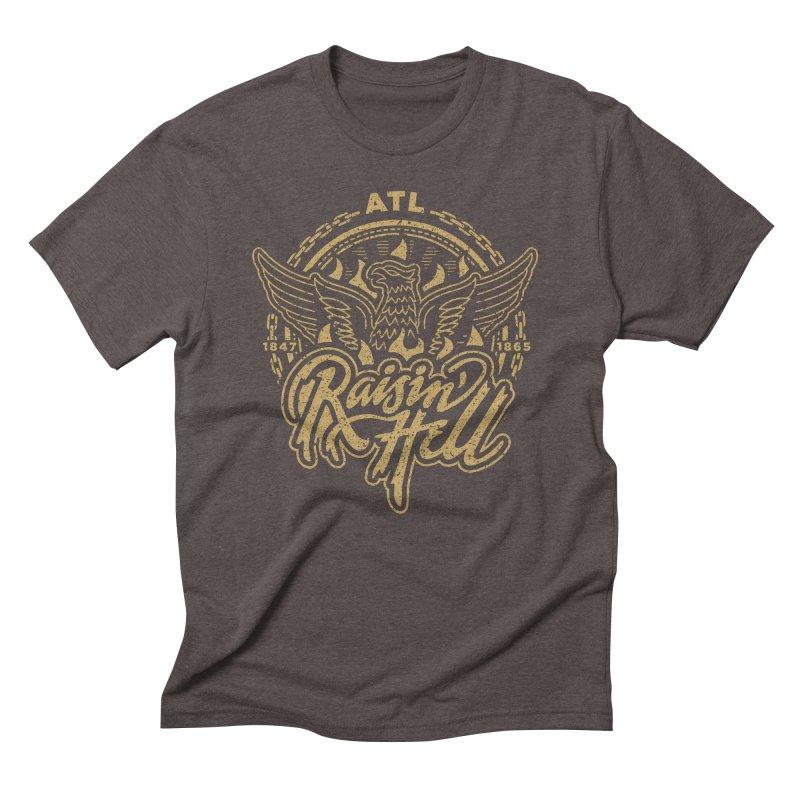 Raisin' Hell in ATL Men's T-Shirt by MattAlbert84's Apparel Shop