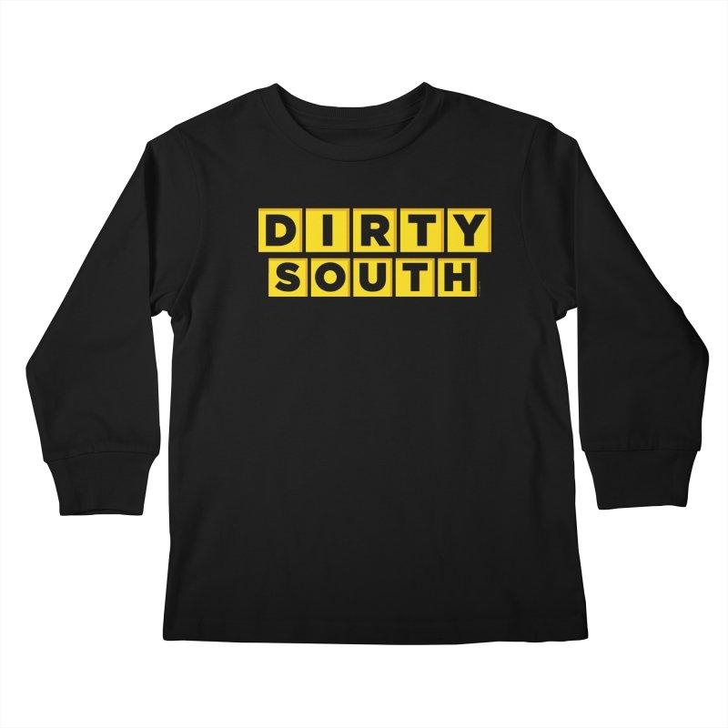 Dirty South Kids Longsleeve T-Shirt by MattAlbert84's Apparel Shop