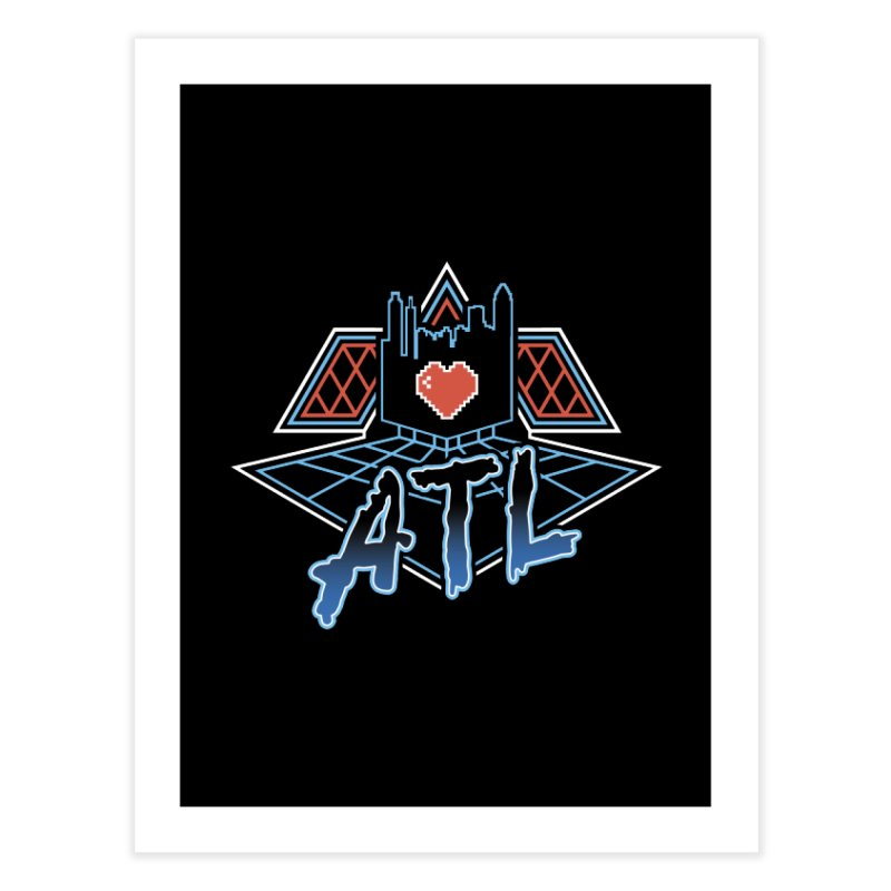 ATL Alive Home Fine Art Print by MattAlbert84's Apparel Shop