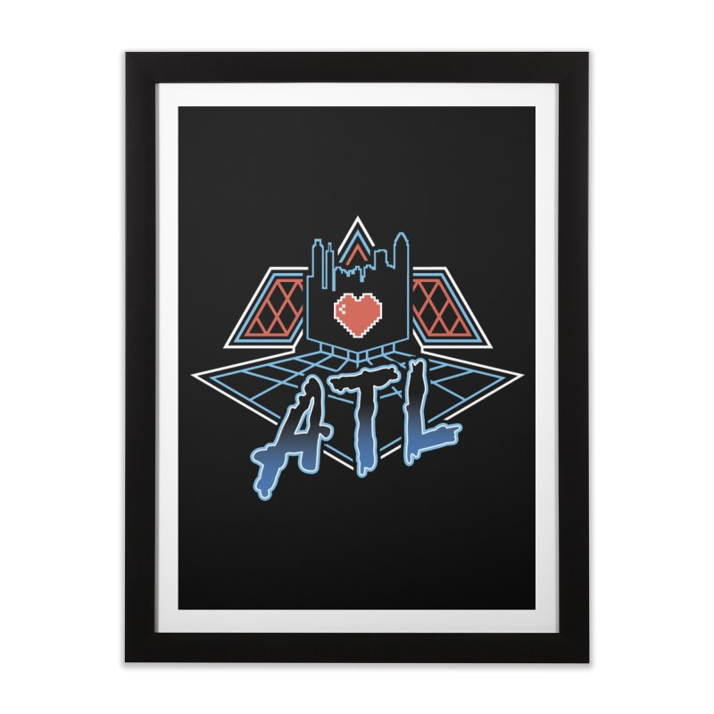 ATL Alive Home Framed Fine Art Print by MattAlbert84's Apparel Shop