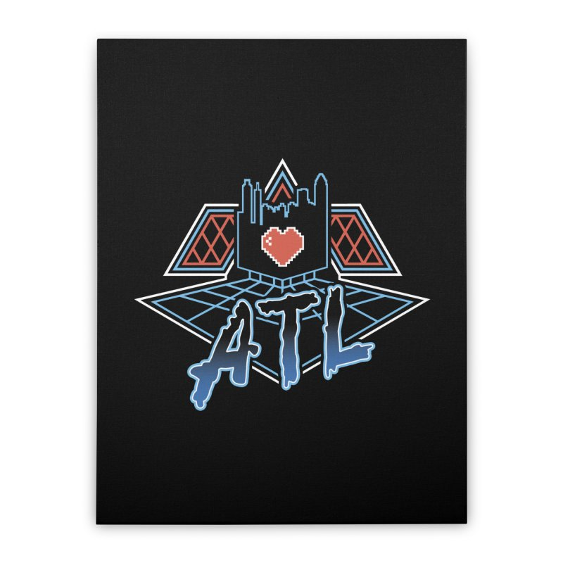 ATL Alive Home Stretched Canvas by MattAlbert84's Apparel Shop