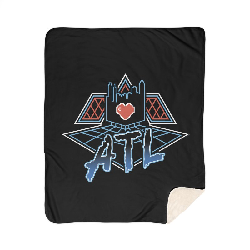 ATL Alive Home Sherpa Blanket Blanket by MattAlbert84's Apparel Shop