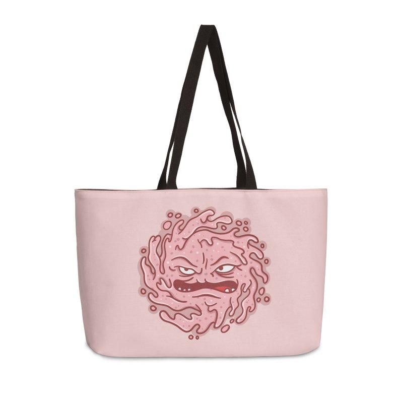 Krang Slimeball Accessories Weekender Bag Bag by MattAlbert84's Apparel Shop