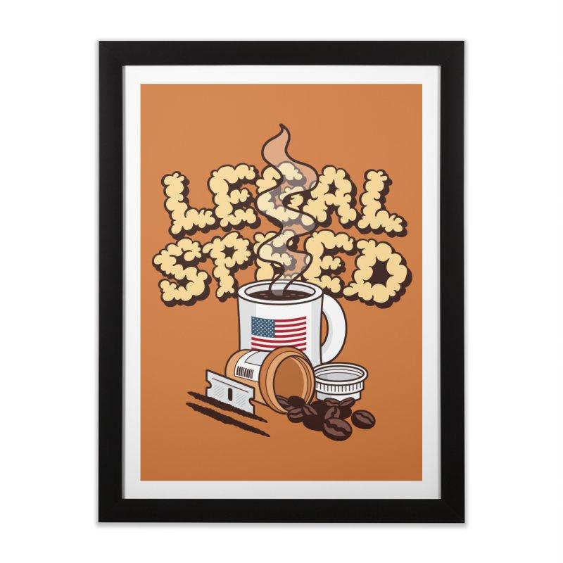 Legal Speed Home Framed Fine Art Print by MattAlbert84's Apparel Shop
