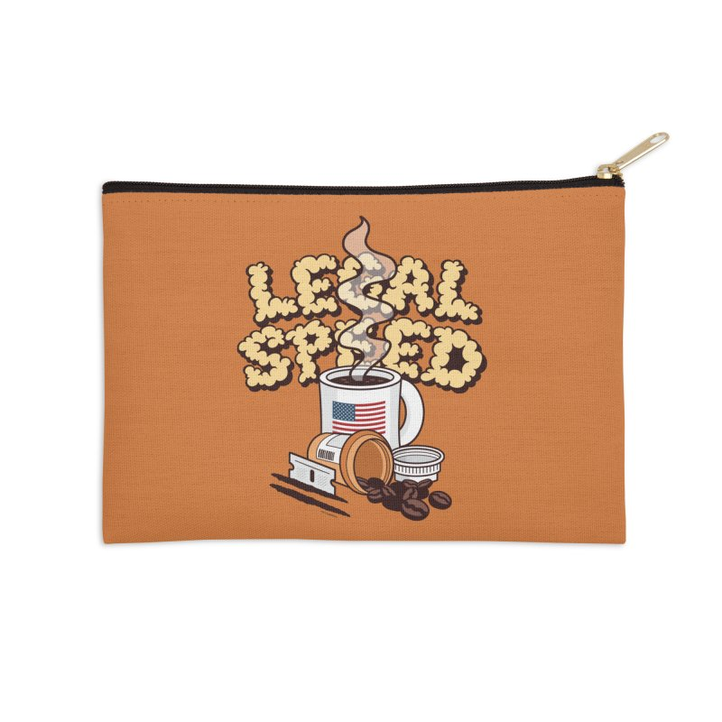 Legal Speed Accessories Zip Pouch by MattAlbert84's Apparel Shop