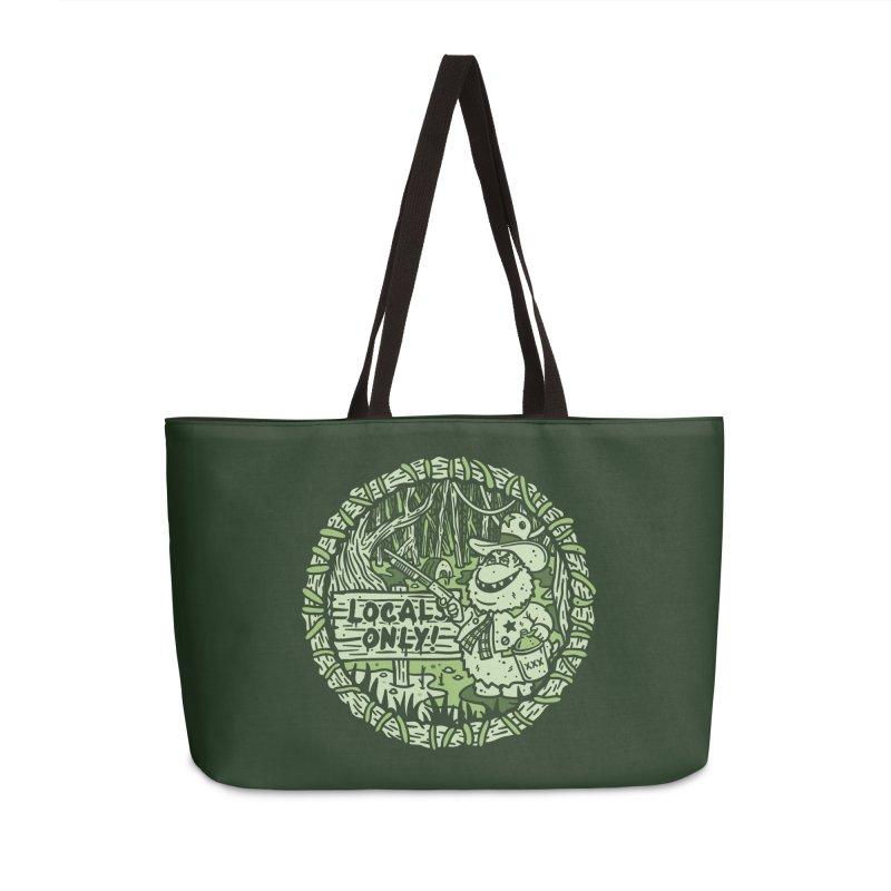 Locals Only Accessories Weekender Bag Bag by MattAlbert84's Apparel Shop
