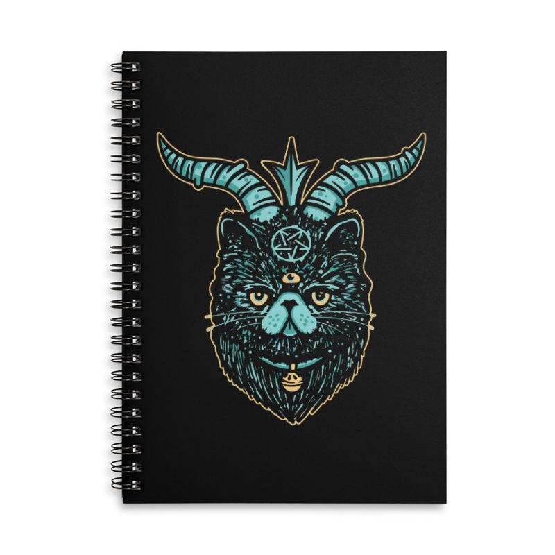Catphomet Accessories Notebook by MattAlbert84's Apparel Shop