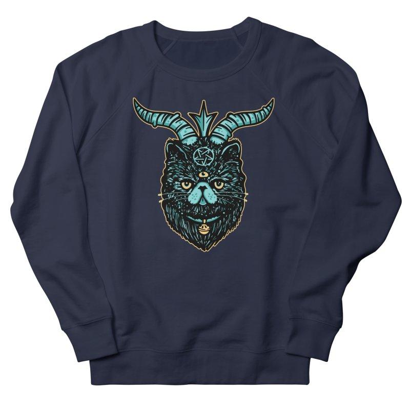 Catphomet Men's French Terry Sweatshirt by MattAlbert84's Apparel Shop