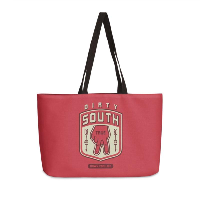 Down For Life Accessories Weekender Bag Bag by MattAlbert84's Apparel Shop