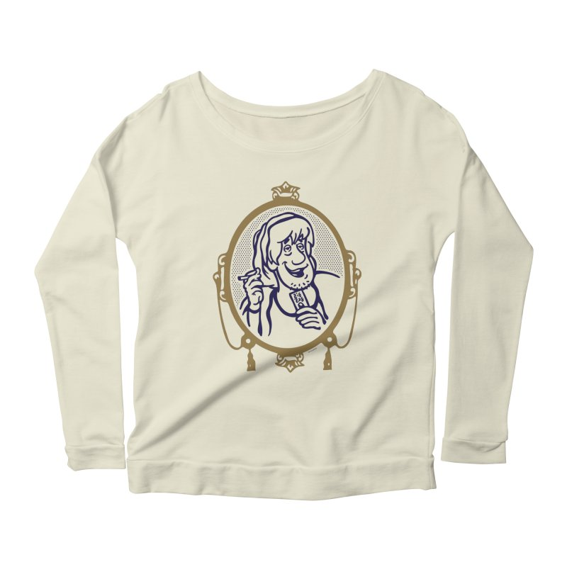 Zig Shaggs Women's Longsleeve Scoopneck  by MattAlbert84's Apparel Shop