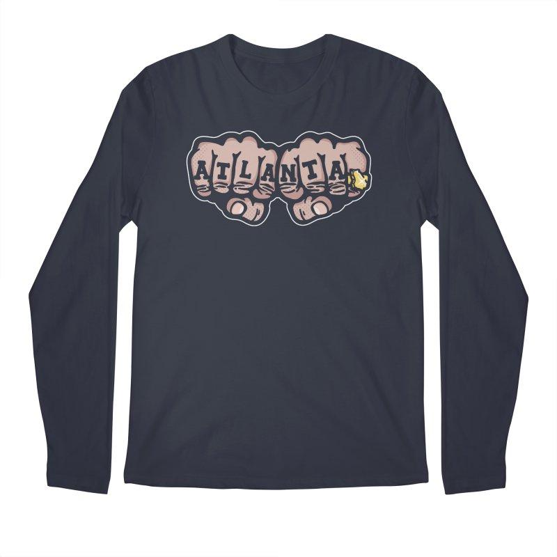 Knuckle Up Men's Longsleeve T-Shirt by MattAlbert84's Apparel Shop