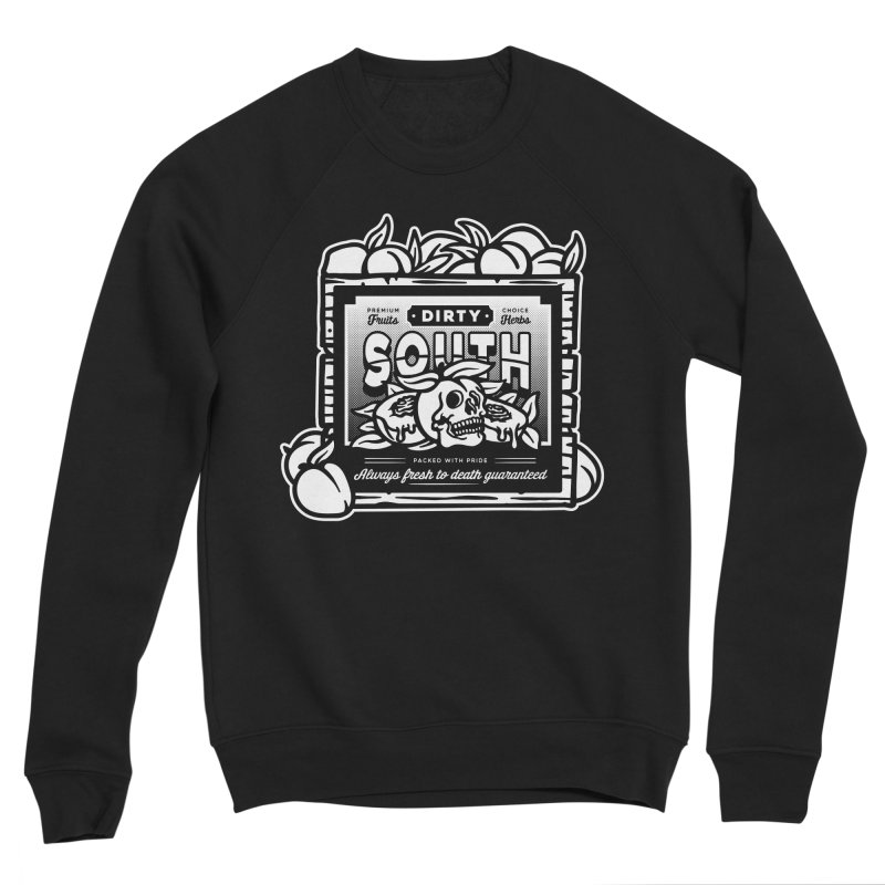 Dirty South Fruit Company Men's Sponge Fleece Sweatshirt by MattAlbert84's Apparel Shop