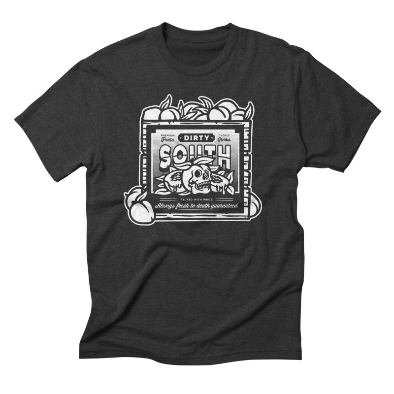 Dirty South Fruit Company Men's Triblend T-Shirt by MattAlbert84's Apparel Shop
