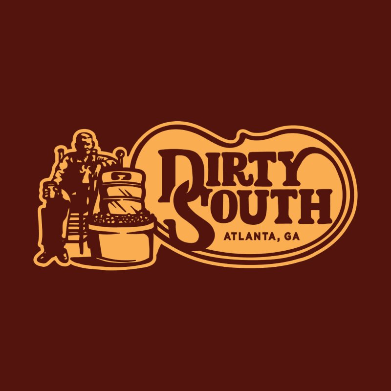 Dirty South Porch Party Home Mounted Aluminum Print by MattAlbert84's Apparel Shop