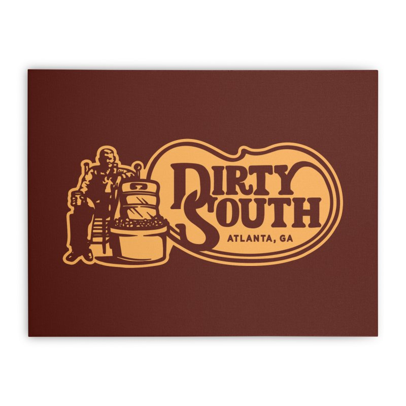 Dirty South Porch Party Home Stretched Canvas by MattAlbert84's Apparel Shop