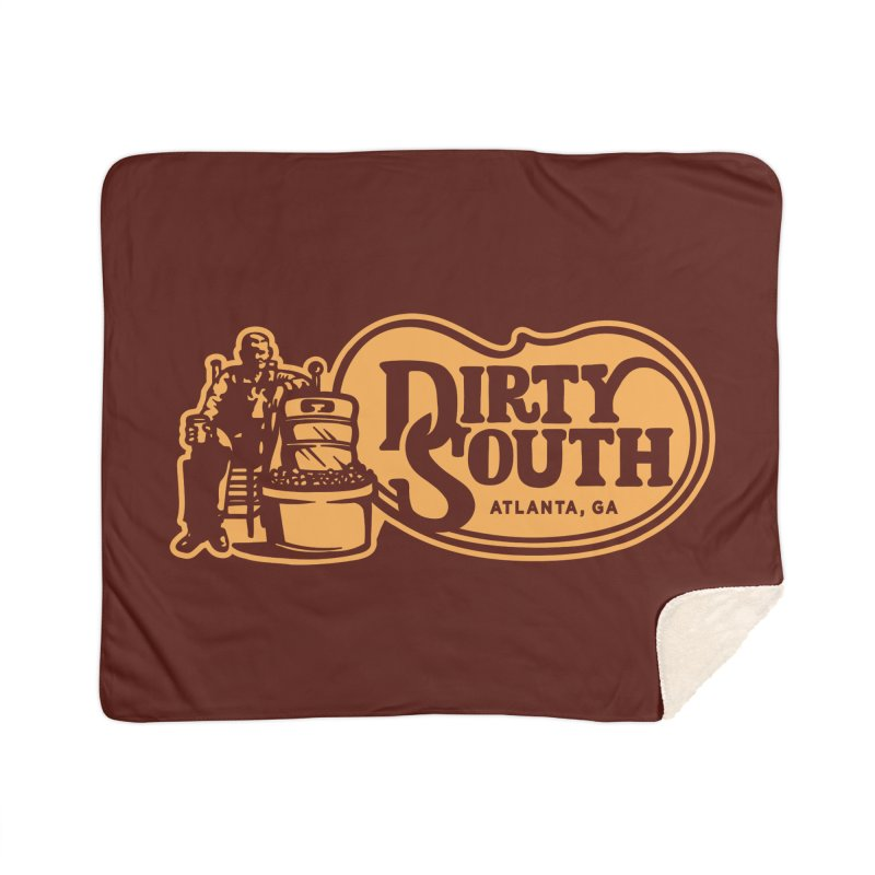 Dirty South Porch Party Home Sherpa Blanket Blanket by MattAlbert84's Apparel Shop