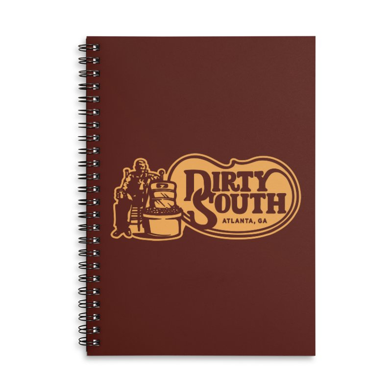 Dirty South Porch Party Accessories Lined Spiral Notebook by MattAlbert84's Apparel Shop